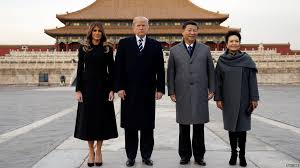 bbc asia on twitter trump begins talks with china s leader xi
