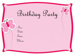 free birthday invitation cards templates best 25 free birthday
