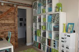 keeping it simple craft room reveal decor ideas and craft there is a little nook in this room so i found a shelving unit that fit perfectly in there to put my random supplies and bigger stuff on