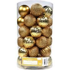 time ornaments 60mm shatterproof ornament set