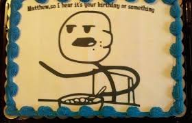 Birthday Cake Meme - birthday cakes for people with a good sense of humor smosh