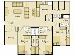 Miami 3 Bedroom Apartments | 3 bedroom apartments miami university level 27