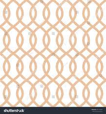 seamless trellis pattern apricot color trellis stock vector
