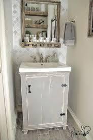 wall ideas cream shabby chic wall mirror a shabby chic bathroom