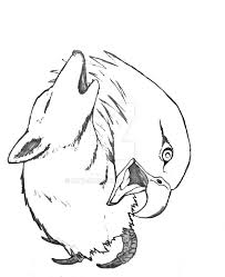 wolf eagle yin yang wip by mtn on deviantart