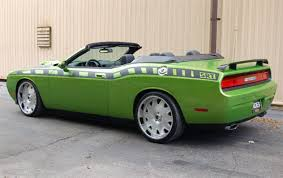 dodge challenger 90 challenger convertible by coach builders to debut at sema page 2