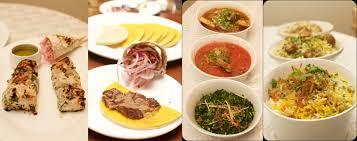 different types of cuisines in the awadhi food festival the verandah taj connemara binny road