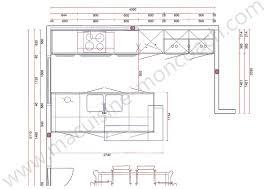 plan cuisine avec ilot central modele cuisine avec ilot central 12 plan cuisine leicht ouverte