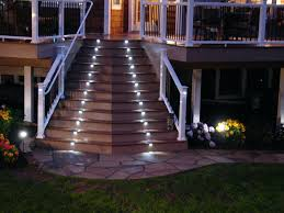 Patio Wall Lighting Patio Ideas Patio Wall Lighting Ideas Outdoor Stair Lighting