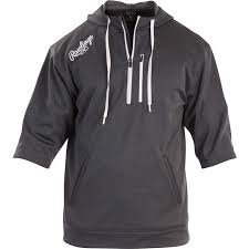 rawlings short sleeve hoodie baseball express