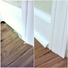 Last Row Of Laminate Flooring Laminate Around Doorways U0026 Here