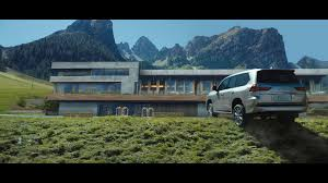 new lexus commercial model the ultimate in refinement meets the ultimate in capability with