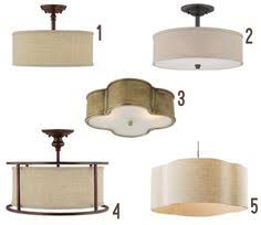 Kitchen Lighting Flush Mount by Decorating Our Castle Seeking Flush Mount Lighting Options That