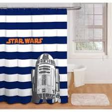 Boy Bathroom Shower Curtains The Is Strong With This Stylish Wars Shower Curtain