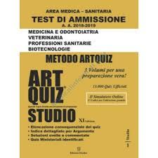 test ingresso veterinaria artquiz studio 2018 2019 13000 quiz per i test di ammissione a
