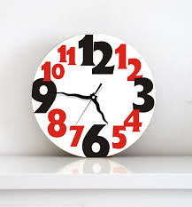home decor black friday wall clock kitchen hostess kids children living room christmas
