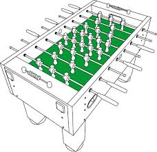 space needed for foosball table what to look for when buying a foosball table