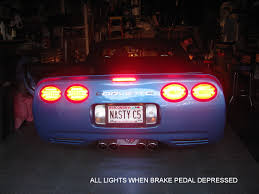 f s 1997 2004 c5 corvette modified halo led lights hyper