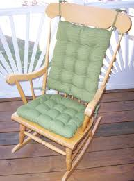 Rocking Chair Cushions For Nursery Large Rocking Chair Cushion Sets Wooden Rockingir Cushions For
