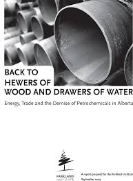 wood and back to hewers of wood and drawers of water energy trade and