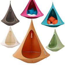 tent chair cacoon hanging tent chair the garden factory