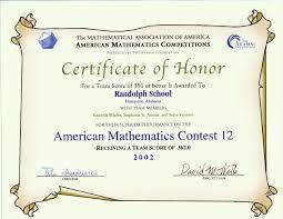 awards for the amc 10 amc 12 contests aime u0026 usamo examinations