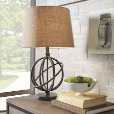 Wrought Iron Table Lamps Rustic Table Lamps You U0027ll Love Wayfair