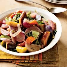 braised root vegetables and cabbage with fall fruit recipe