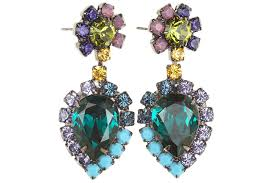 dannijo earrings dannijo collaborates with calypso st barth on exclusive jewelry