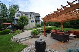 Design A Patio Patio Design With Pergola And Fireplace Sponzilli Landscape