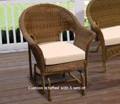 Outdoor Single Glider Chair Chairs Rockers And Single Gliders