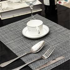 table mats and coasters table placemats pvc insulation kitchen dining table mats coasters