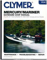 Mercury Marine Manuals Repair Manuals Online