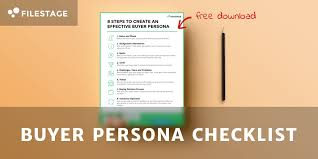 8 steps to create an effective buyer persona