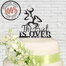 buck and doe wedding cake topper pasteles de boda 90 weddbook