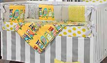 yellow and gray baby crib bedding yellow and gray nursery decor