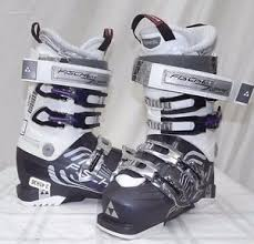 womens size 11 ski boots 14 15 fischer zephyr 11 vacuum used s ski boots size 23 5