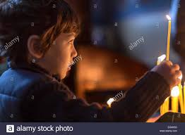 sofia the candle bulgaria sofia boy 4 5 holding candle stock photo