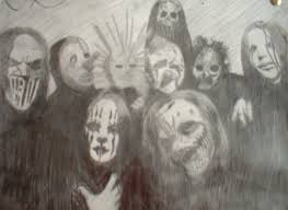 slipknot sketch by the grim reaper on deviantart