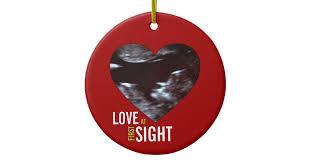 sonogram ornament at sight zazzle