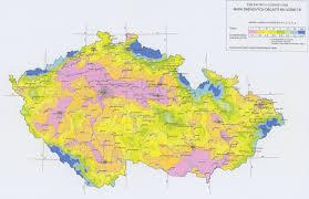 Map Of Czech Republic Csn National Annex For Ec 1991 1 3