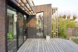 extension maison contemporaine monfort l u0027amaury maison rénovée avec extension contemporaine
