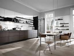 cuisine noir mat et bois cuisine noir mat et bois 14 table de cuisine avec plateau