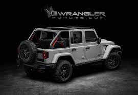 renderings new jeep wrangler jlu brought to life 2018 jeep