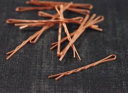 wide bobby pins 1 16 wide bobby pin blanks copper plated steel 12pcs hair