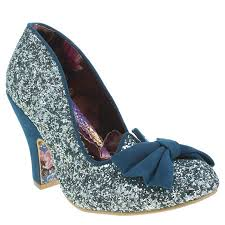 shimmer lights purple shoo womens irregular choice turquoise nick of time glitter high heels