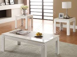 fabulous small white coffee table with lack side table high gloss