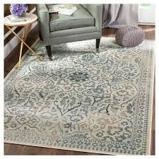 10 X12 Area Rug Cream Light Blue Solid Loomed Area Rug 8 U002710