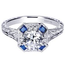 diamonds sapphire rings images 18k white gold diamond and sapphire ring wedding day diamonds jpg