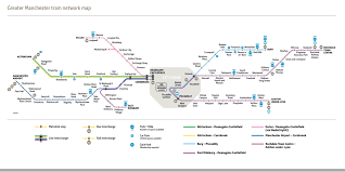 Seattle Link Rail Map Submission Official Map Manchester Metrolink Englandsubmitted